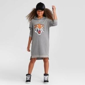 Art class Xl 14 16 hooded tiger dress